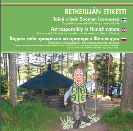 Act responsibly in Finnish Nature